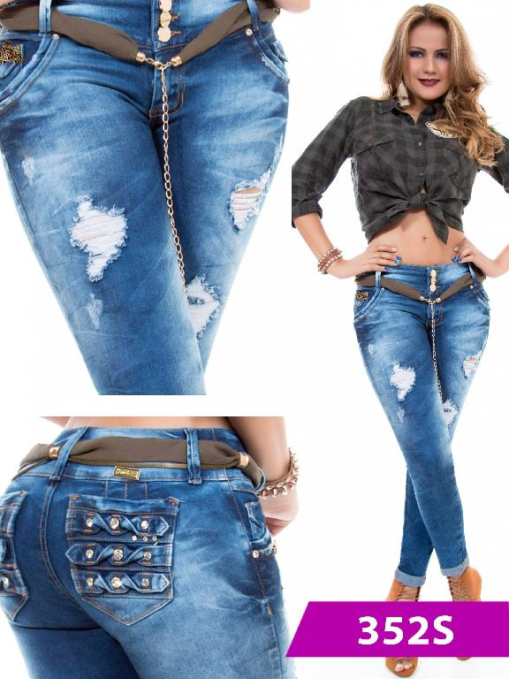 Jeans Levantacola Colombiano Duchess - Ref. 237 -352 S