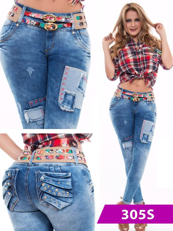 Jeans Levantacola Colombiano Duchess - Ref. 237 -305 S
