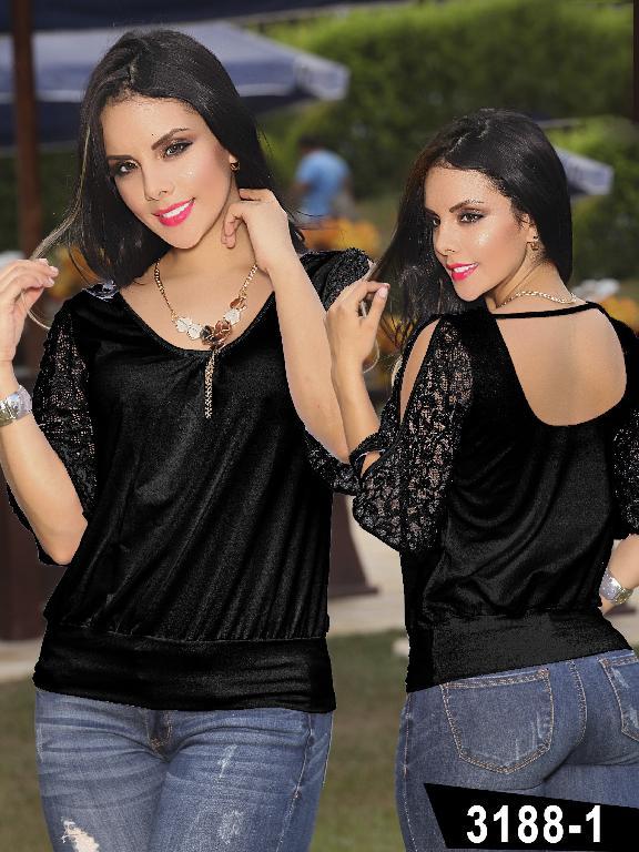 Blusa Moda Thaxx - Ref. 119 -31881
