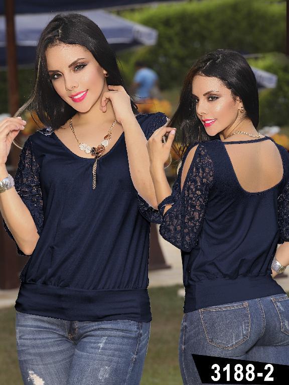 Blusa Moda Thaxx - Ref. 119 -31882