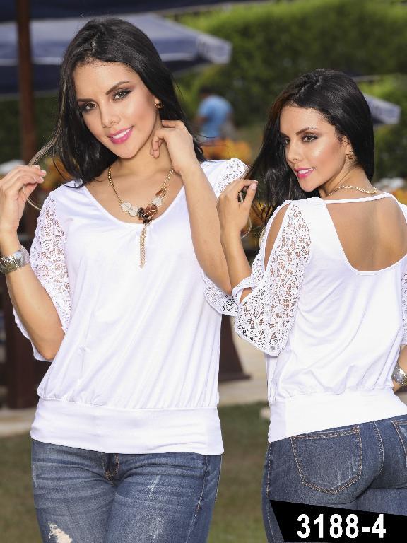 Blusa Moda Thaxx - Ref. 119 -31884