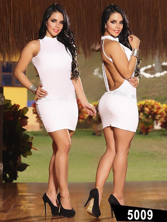Vestido Moda Thaxx - Ref. 150 -5009