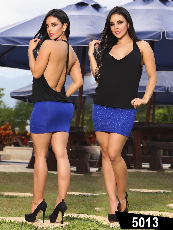 Vestido Moda Thaxx - Ref. 150 -5013