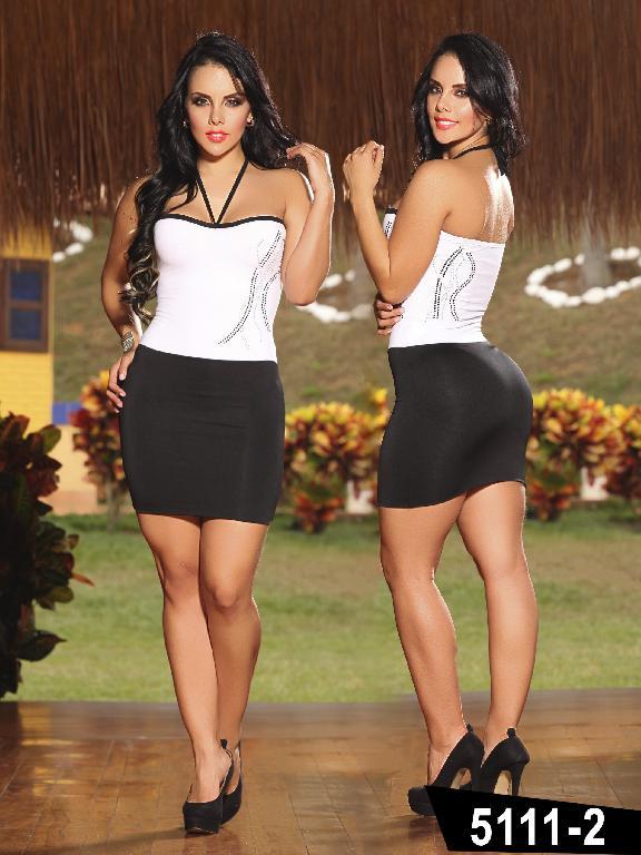 Vestido Moda Thaxx - Ref. 150 -51112