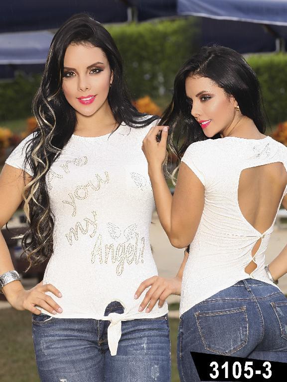 Blusa Moda Colombiana Thaxx - Ref. 119 -31053