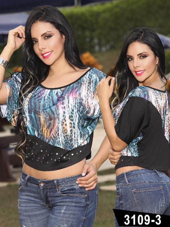Blusa Moda Colombiana Thaxx - Ref. 119 -31093