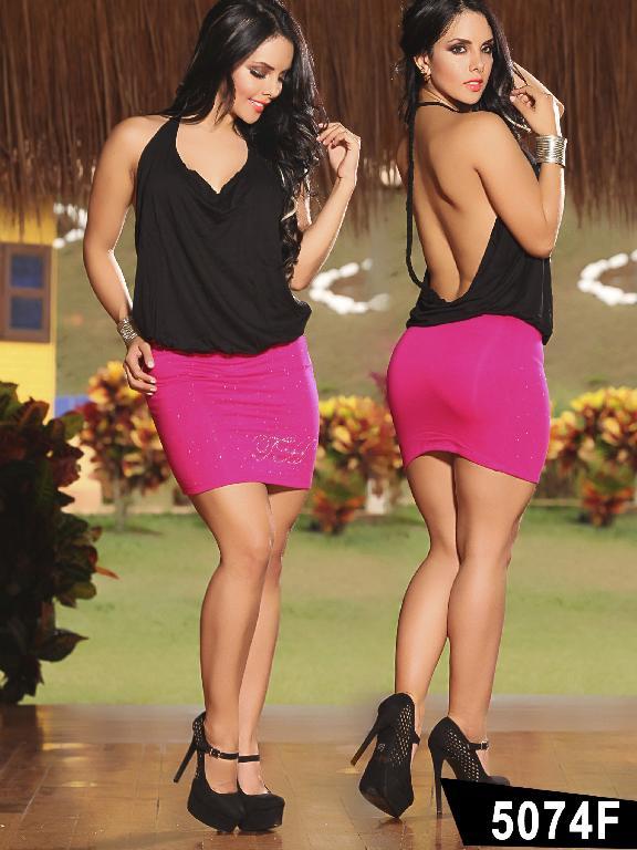 Vestido Colombiano Thaxx - Ref. 119 -5074F