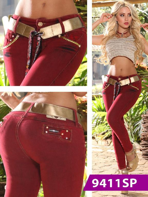 Jeans Levantacola Colombiano Sweet Pink - Ref. 242 -9411 SP