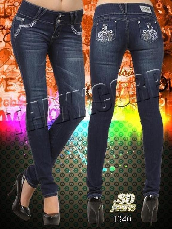 Jeans Levantacola SD - Ref. 108 -1340