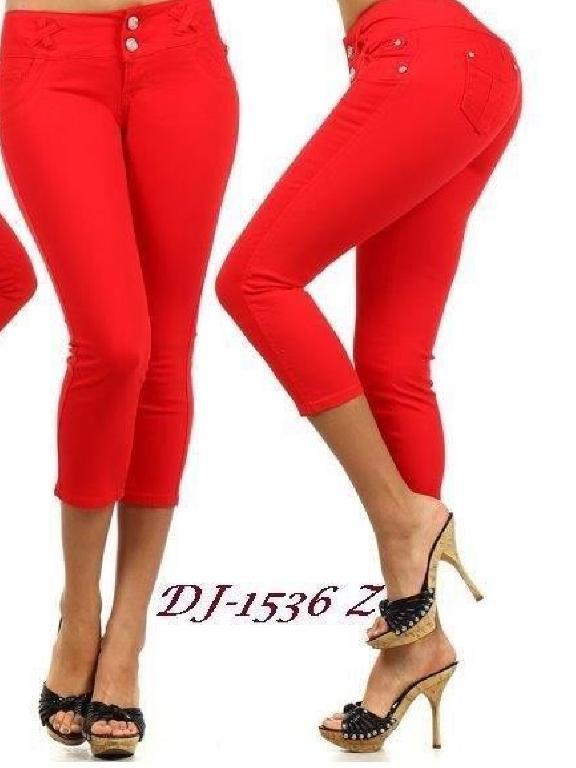 Capri Levantacola SD Jeans - Ref. 108 -1536Z RED