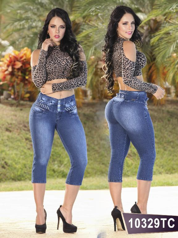 Jeans Levantacola Colombiano Thaxx Classic