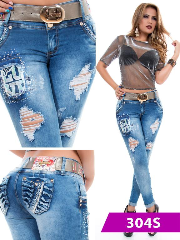 Jeans Levantacola Colombiano Duchess - Ref. 237 -304 S