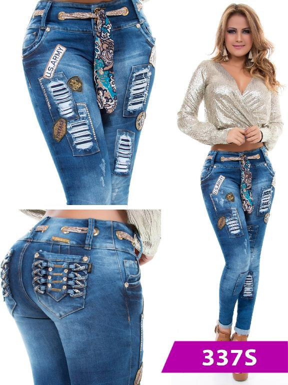 Jeans Levantacola Colombiano Duchess - Ref. 237 -337 S