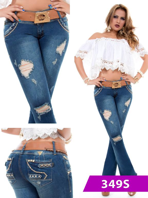 Jeans Levantacola Colombiano Duchess - Ref. 237 -349 S