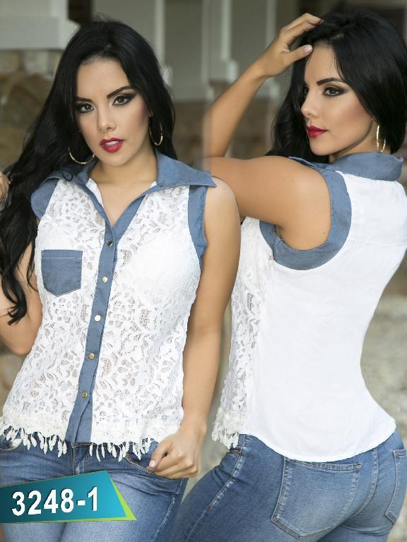 Blusa Moda Thaxx - Ref. 119 -3248-1